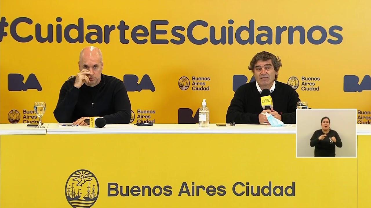 """Rodríguez Larreta quiere """"cortar la cadena de contagios"""" en la Ciudad"""