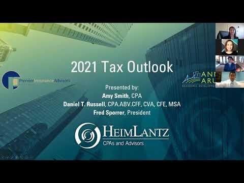 Tax Update 2021