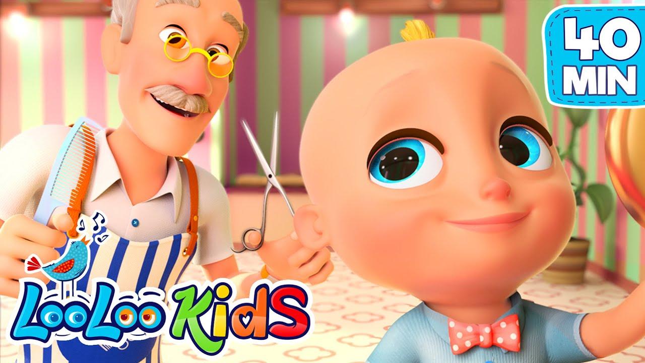 Barber, Barber, Cut My Hair - THE BEST Songs for KIDS LooLoo KIDS Nursery Rhymes