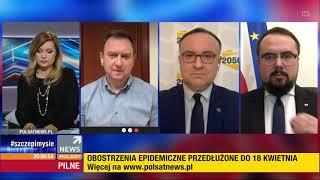 Wiceminister Spraw Zagranicznych – Paweł Jabłoński na żywo w POLSAT: Je**ć PiS