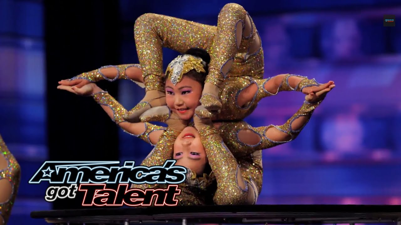 Contortionists Add Specials Twist to Their Acts - America's Got Talent 2014 thumbnail