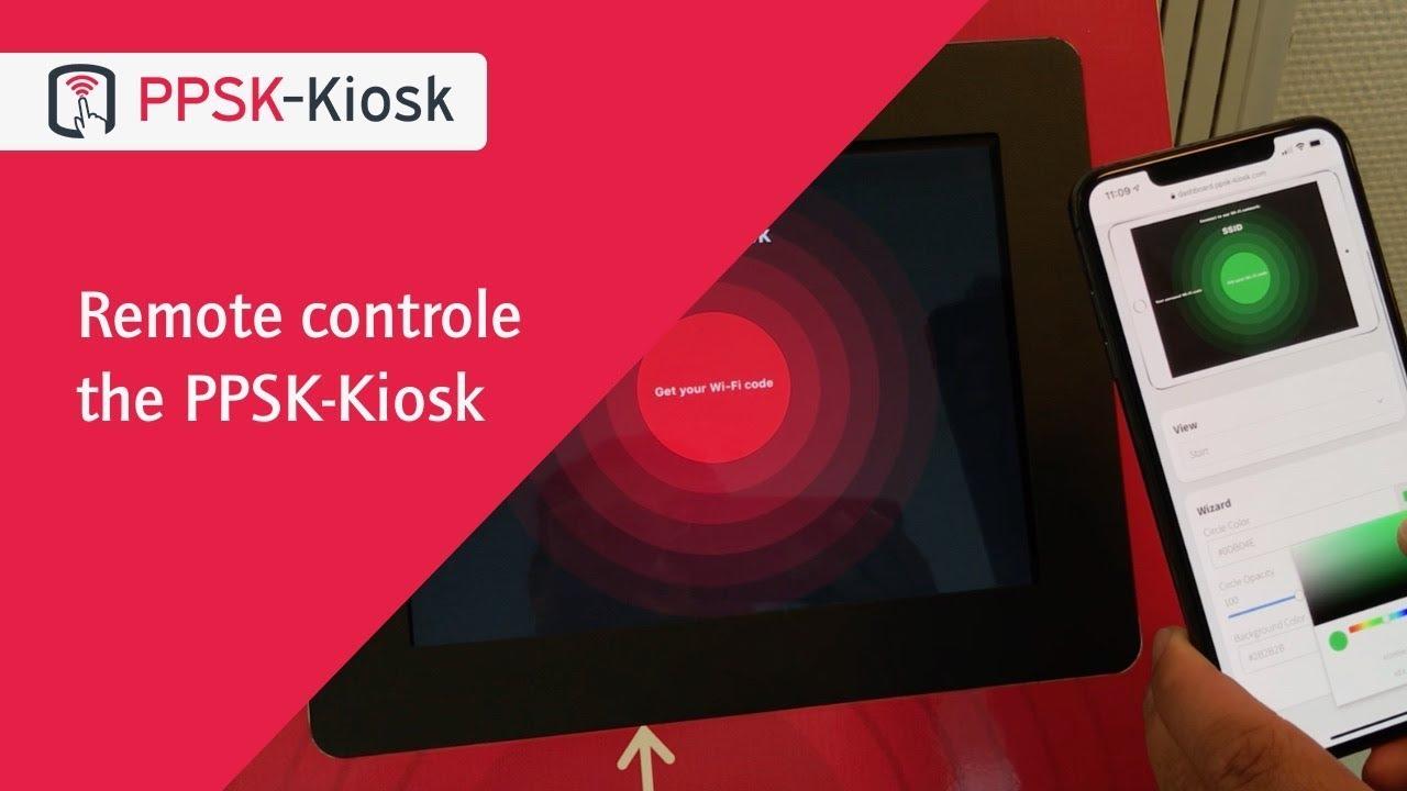 Control the PPSK-Kiosk remotely