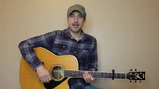 Laying Low - Danielle Bradbery - Guitar Lesson | Tutorial