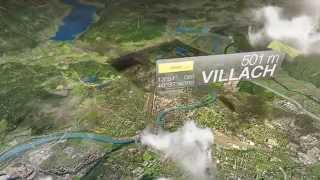preview picture of video 'Imagefilm der Stadt Villach'