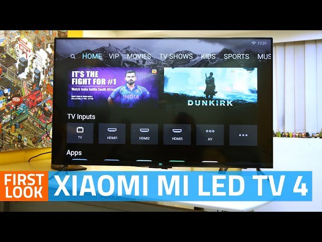Mi TV 4A vs Mi TV 4: Here Are the Differences Between the Two Xiaomi