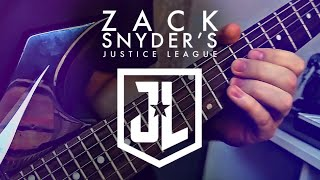 AT THE SPEED OF FORCE / JUNKIE XL - GUITAR COVER - ZACK SNYDER'S JUSTICE LEAGUE + tabs