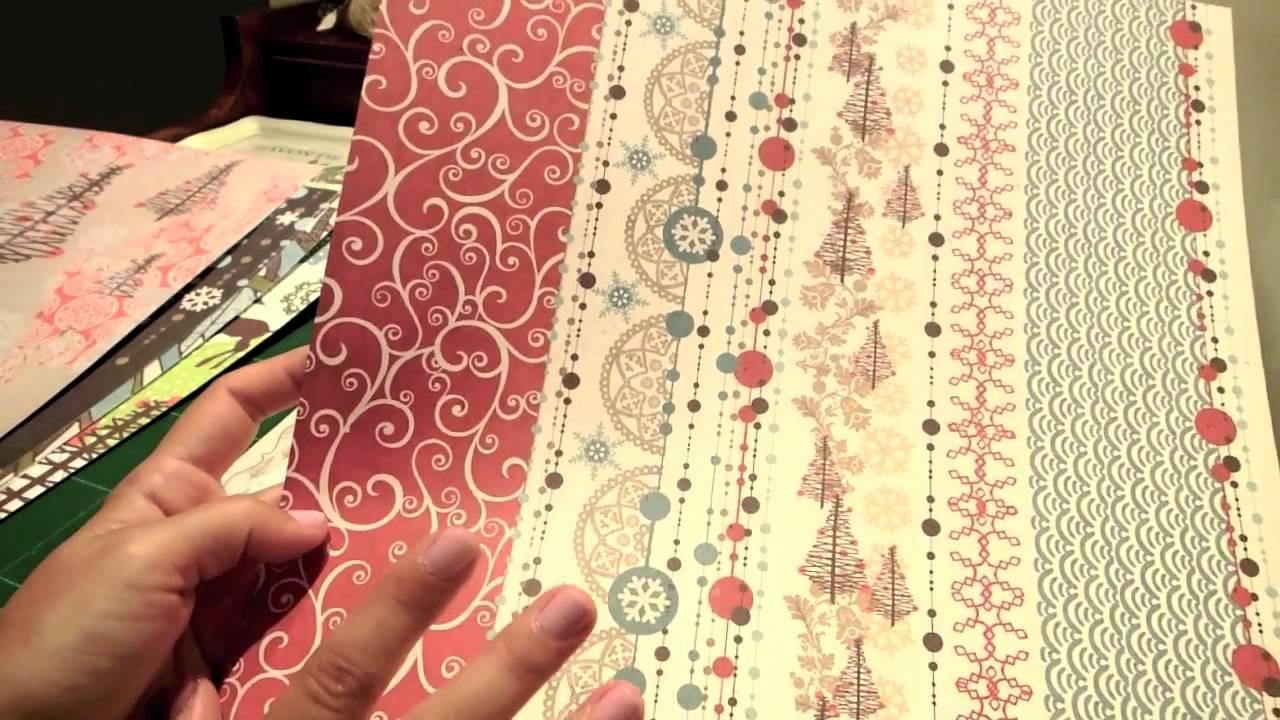 Tips para escoger papeles de scrapbooking (Décimo de Navidad-Episodio 1)