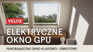 NOWOŚĆ - Panoramiczne okna dachowe VELUX GPU Integra®