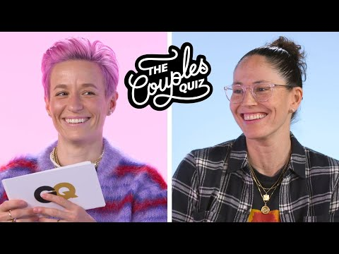 Megan Rapinoe & Sue Bird Ask Each Other 43 Questions   The Couples Quiz   GQ