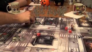 Jugamos a Zombicide: Misión 01