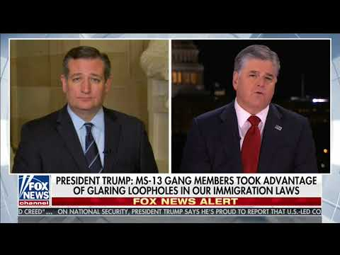 Sen. Cruz Discusses the State of the Union Address on Fox News - January 30, 2018
