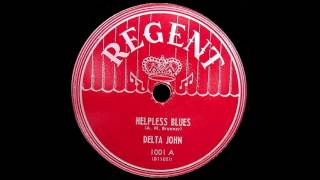 John Lee Hooker (Delta John) - Helpless Blues