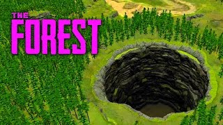 GIANT HOLE OF DEATH (The Forest, Ep.29)