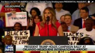 Melania Trump Leads The Crowd in The Lords Prayer Then BLASTS the Media