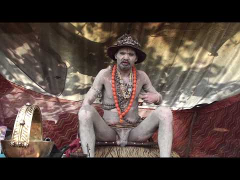 DHUNICAST Interview With Naga Baba Gajendra Giri Ji At 2010 Hardwar Maha Kumbh Mela Part 3 Mp3