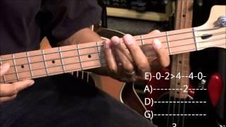ALL ABOUT THAT BASS Meghan Trainor Bass Guitar Lesson EricBlackmonMusicHD