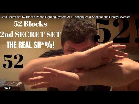 2nd Secret Set 52 Blocks Prison Fighting System ALL Techniques ...