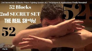 2nd Secret Set 52 Blocks Prison Fighting System ALL Techniques & Applications Finally Revealed!