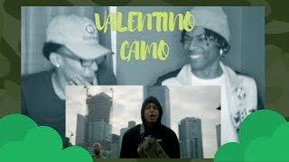 LUCIANO Feat. NIMO   Valentino Camouflage (prod. By Iad Aslan)REACTION