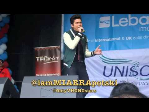 Vhong Navarro Performs 'Totoy Bibbo' In London