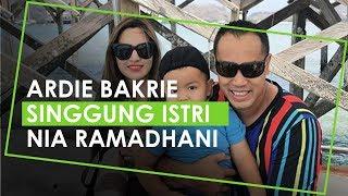 Ardi Bakrie Singgung Istrinya Nia Ramadhani yang Sempat Viral di Media Sosial