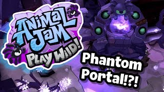 How To Enter New Phantom Portal Animal Jam Play Wild