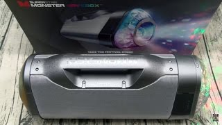 The Superstar Monster RaveBox - The Ultimate Bluetooth BoomBox