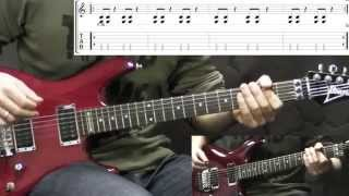 Slayer   Raining Blood   Metal Guitar Lesson (with TABS)
