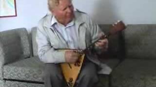 Russian Balalaika balalayka demonstration by real master