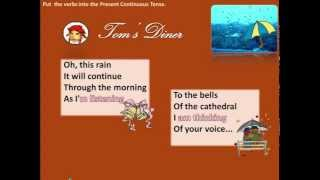 Learn English with songs: Tom's diner