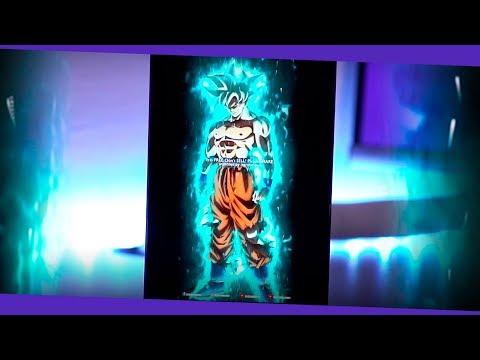 Como hacer tu propio cuadro digital animado de Goku Ultra Instinct