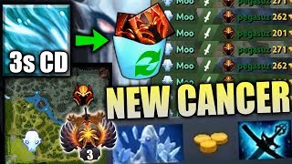 WTF NEW EBOLA 7.20 AA Mid Delete STRONG TANKER DK Most IMBA Meta Epic Dota 2 Gameplay by Moo