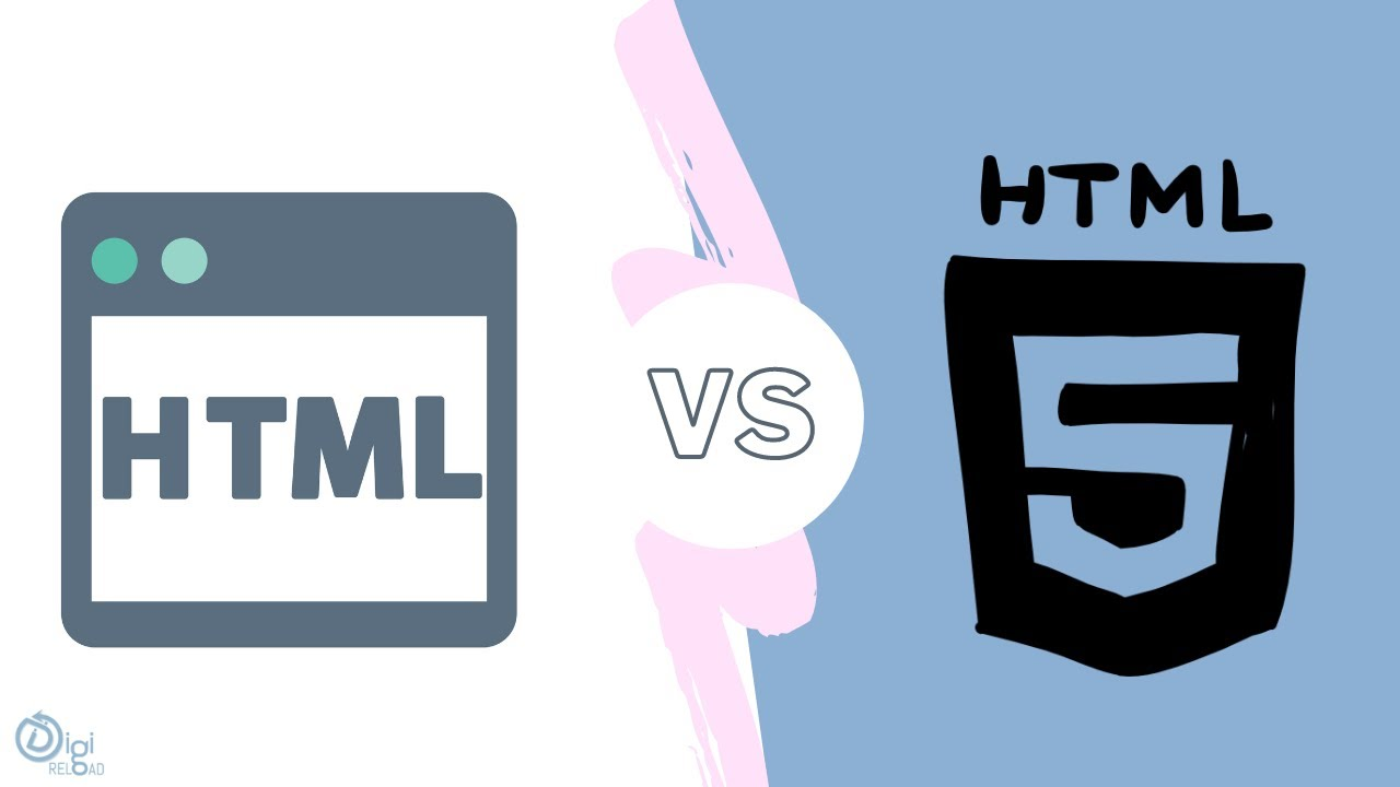 Difference Between HTML and HTML5 | How HTML5 Is Better Than HTML