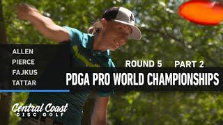 2021 World Championships - R5B9 - Allen, Pierce, Fajkus, Tattar