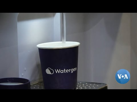 Machines Create Water From Air