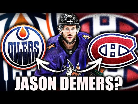 Jason Demers WANTS To Go To Habs? Edmonton Oilers Interest? Montreal Canadiens News & Rumours Today