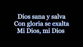 """Video thumbnail of """"Emmanuel y Linda de rojo   Mi Dios Letra"""""""
