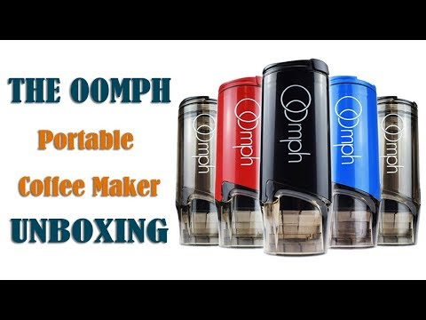 Unboxing: The Oomph - Portable Coffee Maker, Better Coffee on the Go