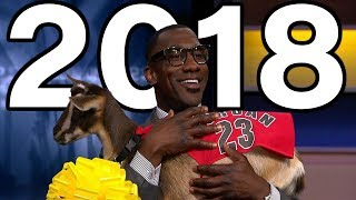 Best Shannon Sharpe Moments of 2018!