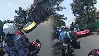 Ambulans Terhenti saat Konvoi Mobil Mewah di Malang, Polisi Sebut Rombongan Bukan Penyebabnya