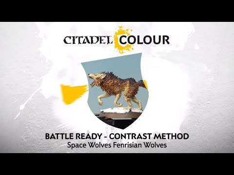 How to Paint: Space Wolves Fenrisian Wolves – Contrast Method