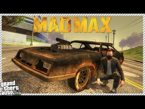 GTA 5 MAD MAX #2 - STEALING THE NEW CAR & SEARCHING FOR WATER