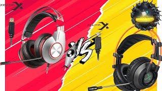 Cheap $27 Gaming Headset Round Up  xiberia k5 VS xiberia k9 مقارنة  سعر جيد