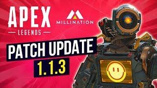 Apex Legends 1.1.3 Patch Update Audio Fixes Hitbox Registration PC Crash
