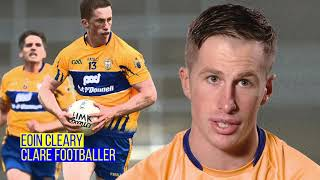 Eoin Cleary, Clare Senior Footballer, tells us about his debut in Cusack Park. #HomeComforts