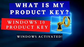 HOW TO FIND WINDOWS 10 PRODUCT KEY || 2020
