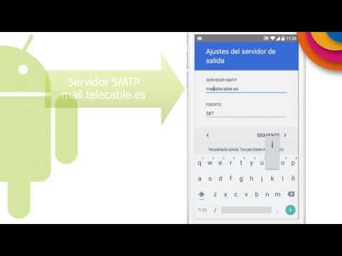 Tutorial I Configurar cuenta de correo telecable en Android