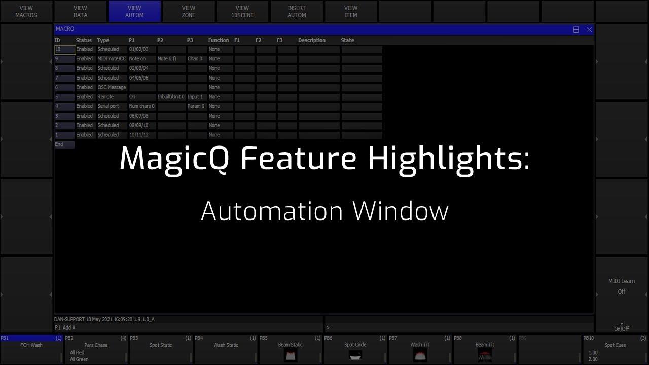 Automation Window