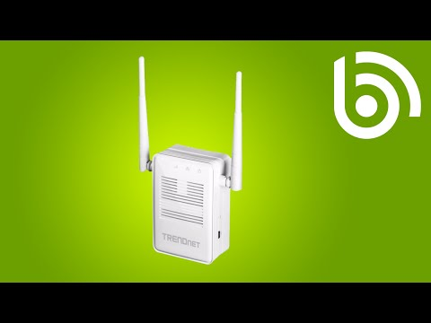 TRENDnet TEW-822DRE AC1200 WiFi Range Extender Introduction