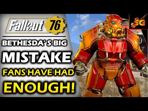 FALLOUT 76 BETHESDA MAKES ANOTHER BIG MISTAKE By Breaking Game Again With Patch 11 & Fans Are Done!